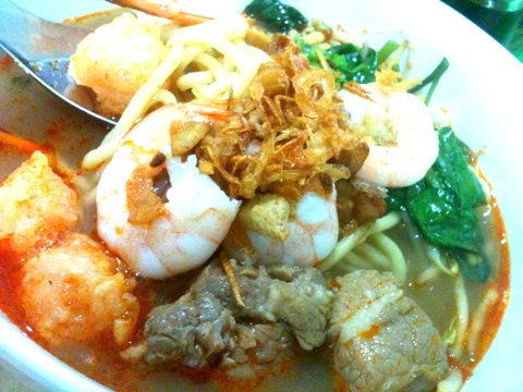 Mie Udang Singapore MiMi