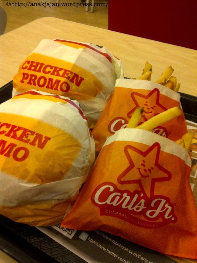 Carl's Jr New Menu : Hand Breaded Chicken Burger
