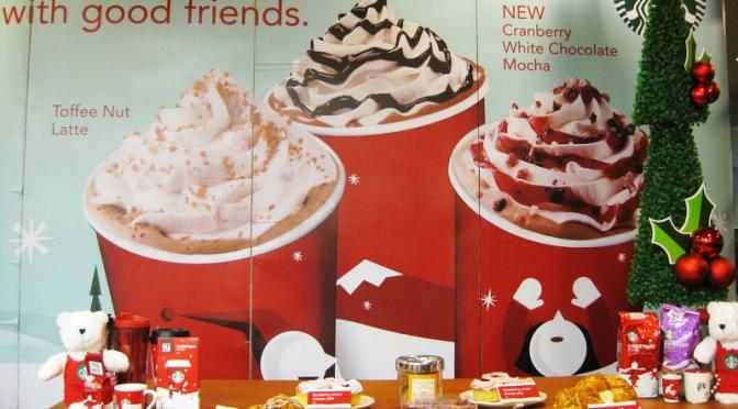 Starbucks Holiday Gathering 2011