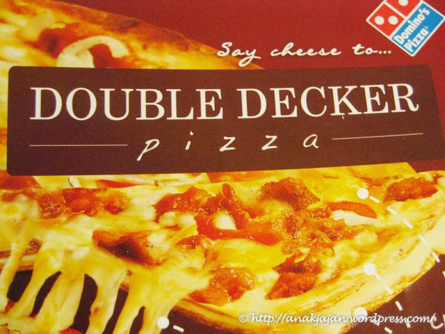Double Decker Pizza At Domino S Anakjajan Com