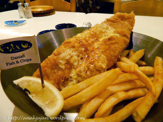 Danish Fish & Chips