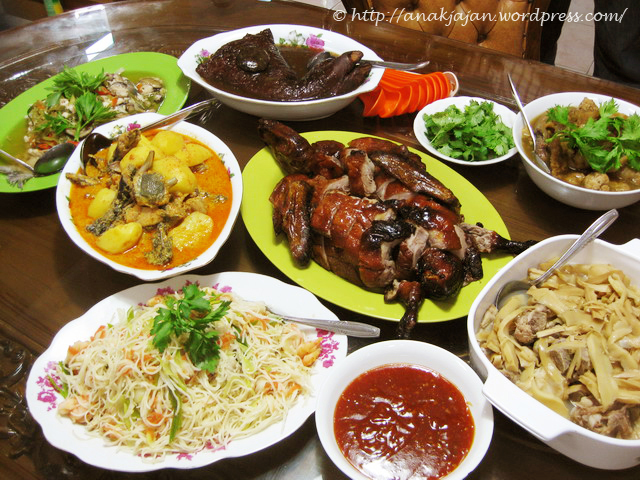 Chinese New Year's Eve Dinner
