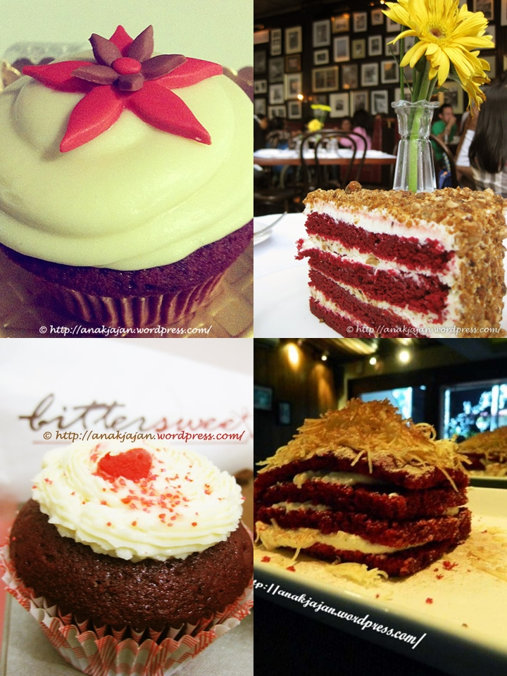 Hunting for Red Velvet Cakes at Jakarta Part 1