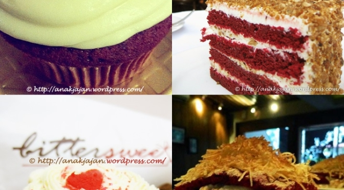 Hunting for Red Velvet Cakes at Jakarta Part 1