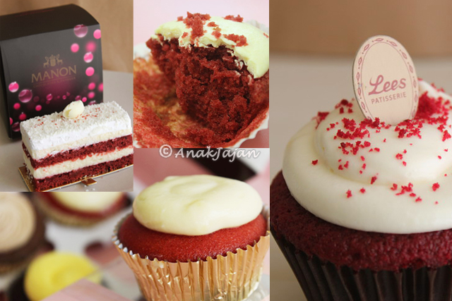 Red Velvet & Rainbow Cakes at Jakarta Part 2