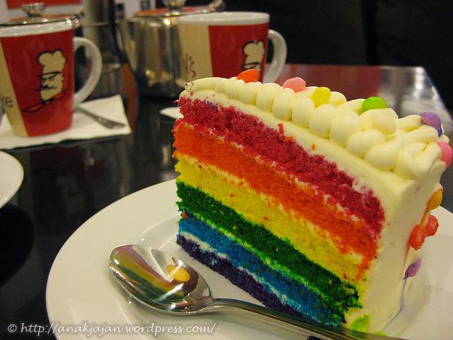 Rainbow cake 25k