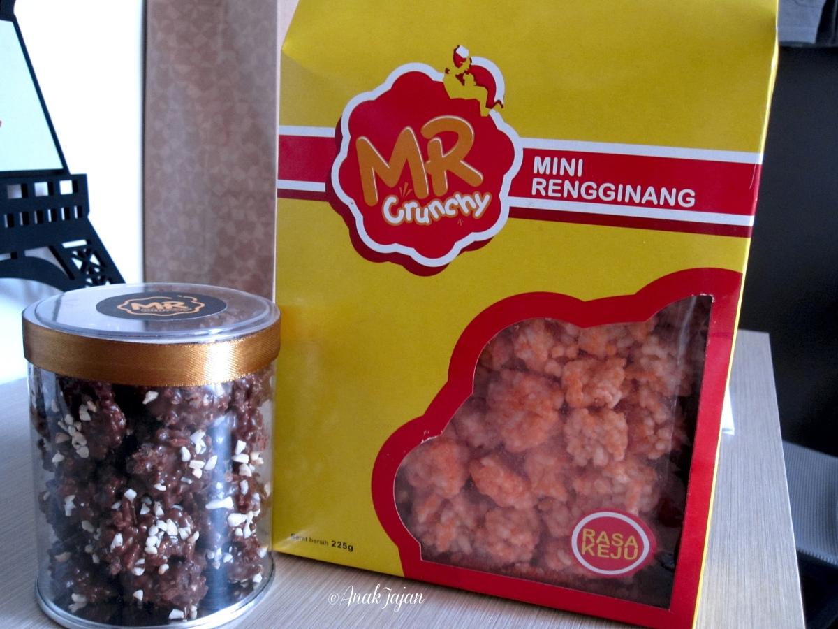 Mr Crunchy Mini Rengginang Anakjajan Com