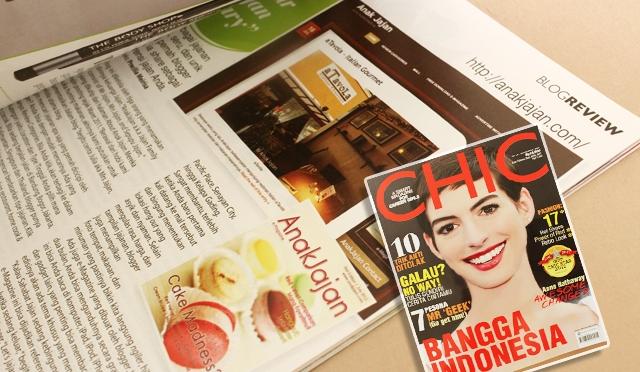 Featured in CHIC Magazine