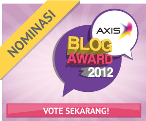 Vote AnakJajan at AxisBlogAward