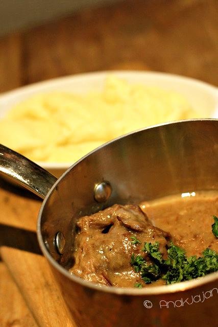 Belgium Beef Stew with Beer 90k