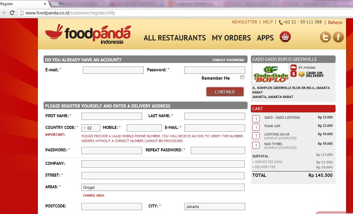 Yummy Food Anytime with Foodpanda