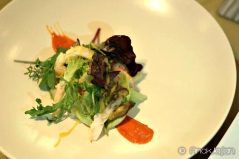 White asparagus Salad IDR 220k