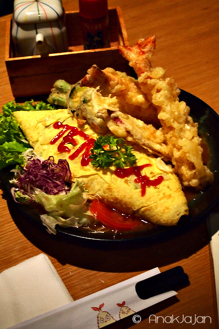 Tempura Omurice creation by AnakJajan and foodie friends