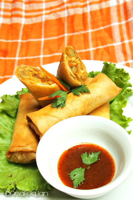 wf Masaman Curry Spring Roll