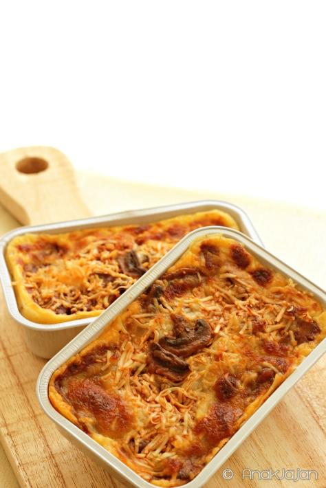 Mushroom, Mushroom Beef Mix Lasagna