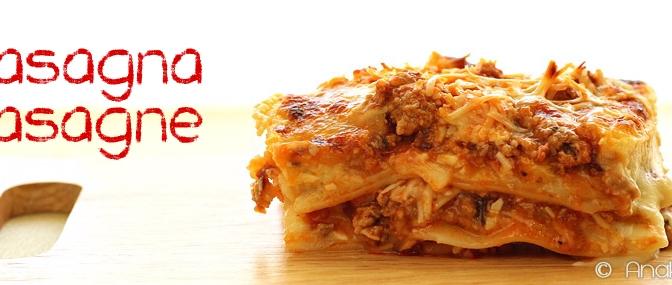 Lasagna Lasagne