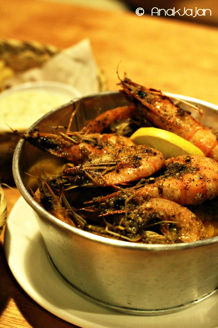 Shrimps IDR 55k (seasoning : Lemon Pepper)