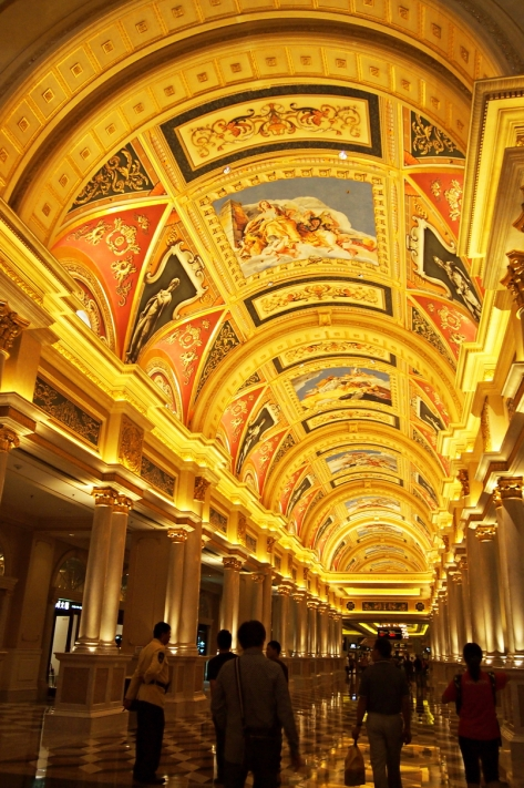 Main Lobby The Venetian Macao