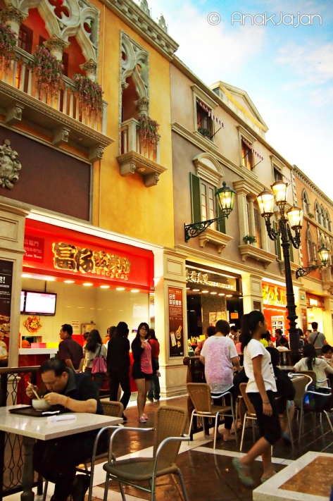 Food Court Area at Grand Canal Shoppe