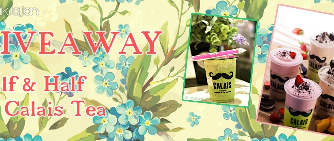 [GIVEAWAY] Half&Half by Calais Tea – Closed