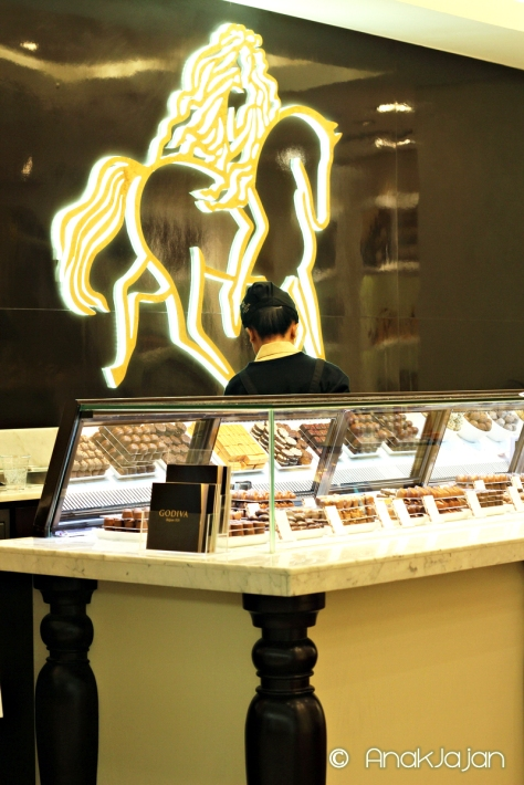 Godiva Outlet at Plaza Indonesia