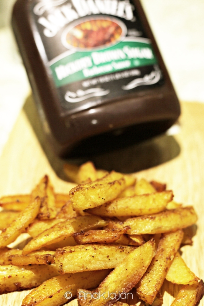 RECIPE: Cheat Potato Fries (Less Oil)