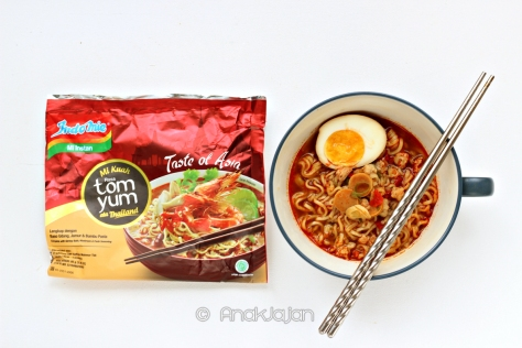 Indomie Tom Yum ala Thailand