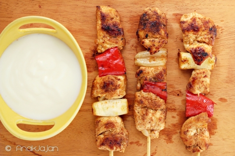 worldfoods grilled chicken skewer