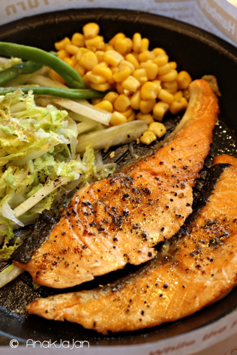 Teriyaki Double Salmon IDR 99k