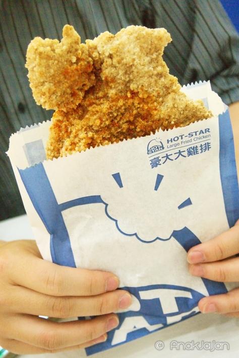 Signature Large Fried Chicken IDR 35k (harga sudah termasuk tax 10%)