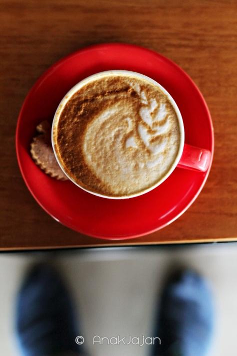 Cappuccino (Hot) IDR 28k (Regular size)