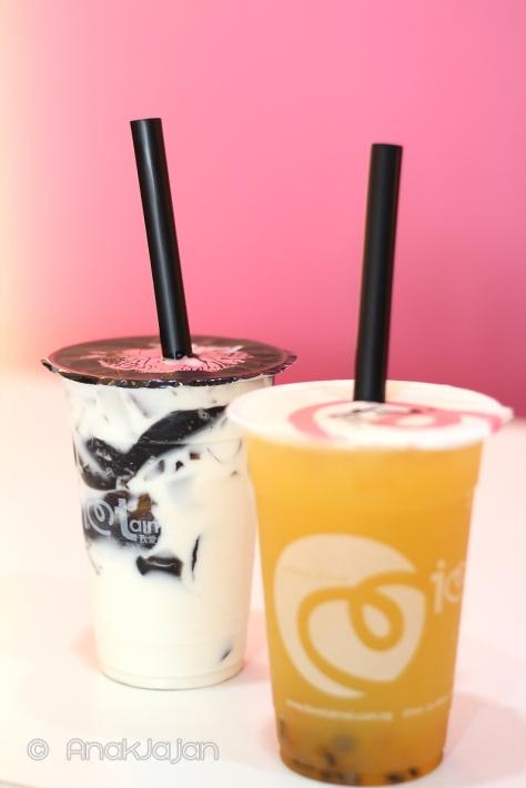 Super Caramel Milk IDR 22k (M) , Passion Popz IDR 22k (M)