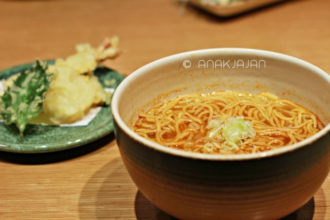 Tempura Curry Ramen IDR 55k