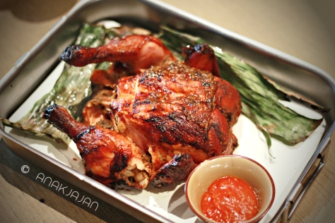Spit Roasted Indonesian Spiceed Chicken IDR 178k full