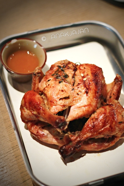 Spit Roasted Lime & Chili Chicken IDR 178k full