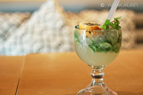 Passion fruit Mojito IDR 55k