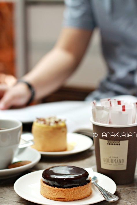 Chocolate Caramel Tart IDR 35k