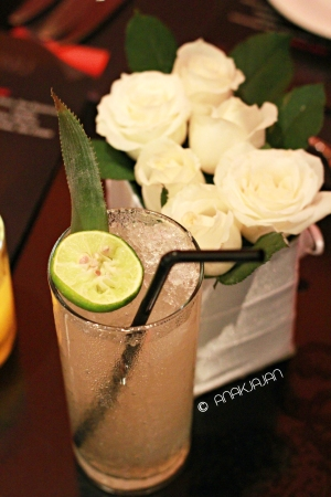 Pinya Mocktail by Mixologist Zachary de Git
