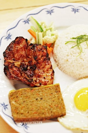 Vietnamese Chicken Chop Rice (Com Tam Chicken)