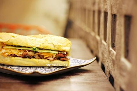 Vietnamese Sandwich Bahn Mi - Grilled Pork IDR 48k