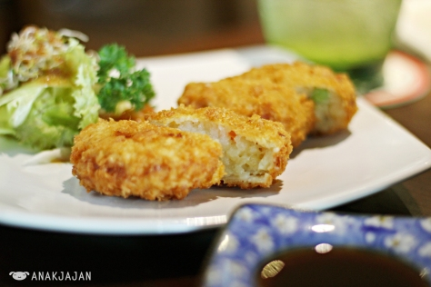 Smaller Korokke Potato IDR 27k