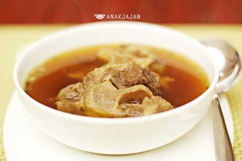 Amazing Javanese Oxtail Soup