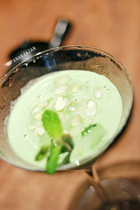 Green Tea Almond Martini IDR 100k