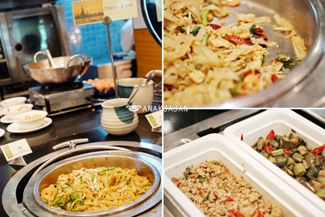 Pad Thai , Minced Chicken with basil