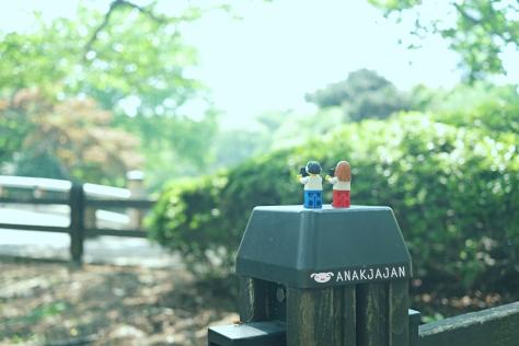 Mr. & Mrs Lego Jajan
