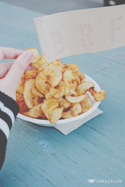 Ribbon Fries - All Spice - Small 550 Yen