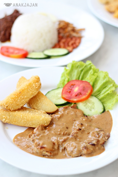 Grilled Chicken Chop IDR 55k