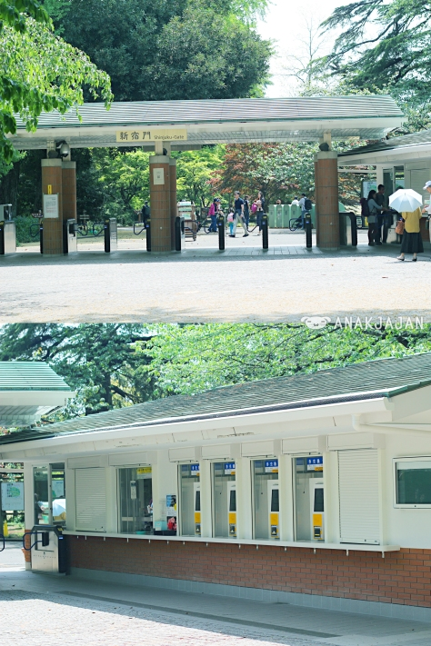 Shinjuku Entrance Gate