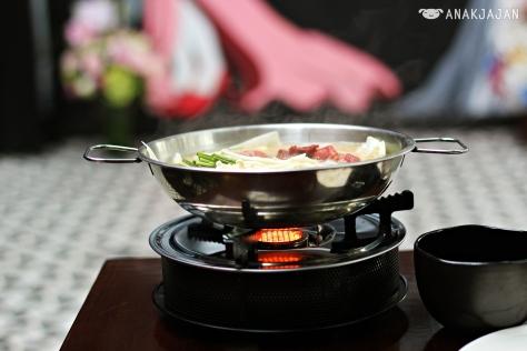 Momo Beef Hotpot IDR 135k (Spicy)