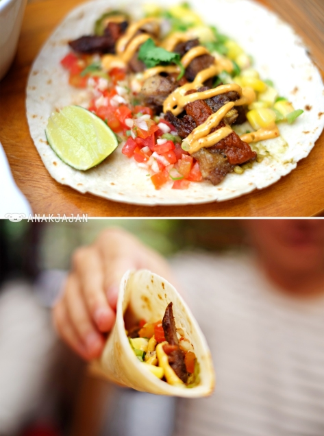 Classic Lengua Taco (sampler portion)